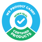 We Proudly Carry Green Seal Certified Products