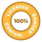 100% Licensed, Bonded & Insured